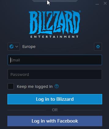 Battle.net Game Key Activation