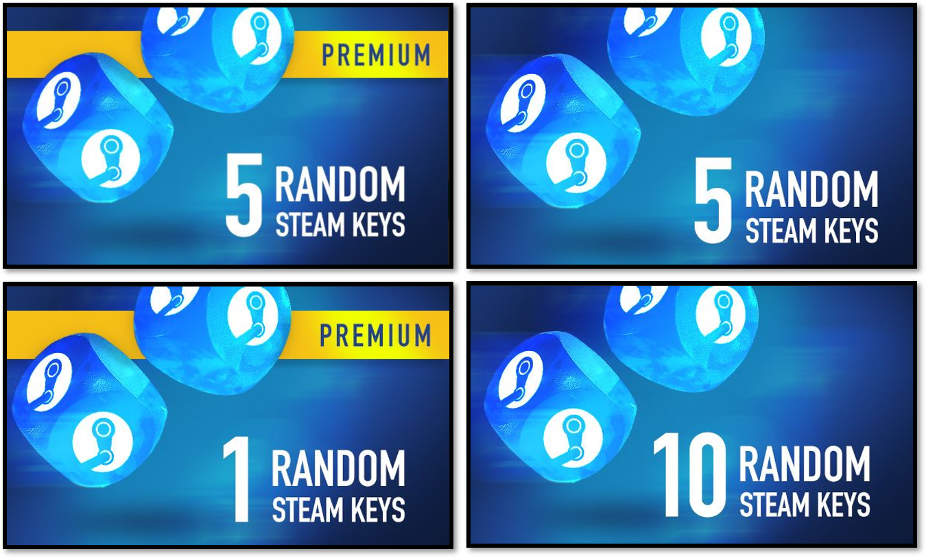 How do Random Steam Key packs on G2A COM work? - Support Hub
