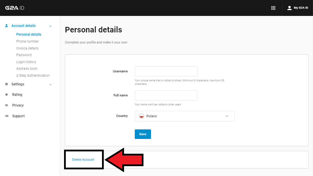 How to cancel mail com account